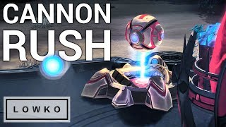 StarCraft 2: PROFESSIONAL Cannon Rush!