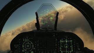 DCS F18 Multiplayer SEAD Mission 01 Supercut