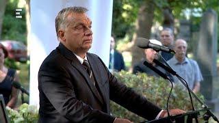 Orbán Viktor beszéde Kerényi Imre temetésén - ECHO TV