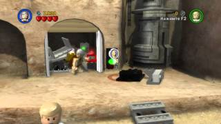 Прохождение Lego Star Wars The Complite Saga, Новая Надежда 4