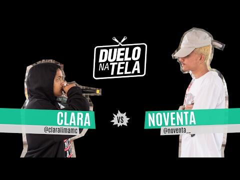 Duelo na Tela #4 - Batevolta - Clara Lima vs Noventa