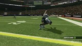Backbreaker Xbox 360 Gameplay - The Pass Game