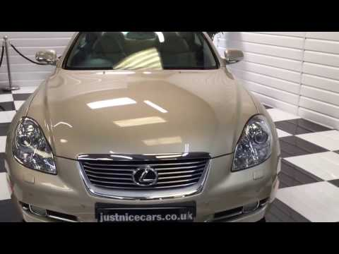 2008 (08) Lexus SC430 4.3 V8 Convertible Automatic (For Sale)