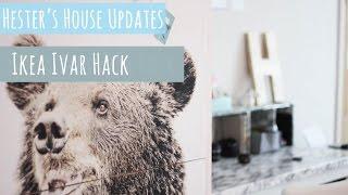 ikea ivar hack bookcase into a stylish cabinet