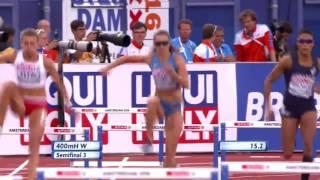 Чемпионат Европы по легкой атлетике-2016. 400 м с барьерами женщины, 1/2 финала Анна Титимец