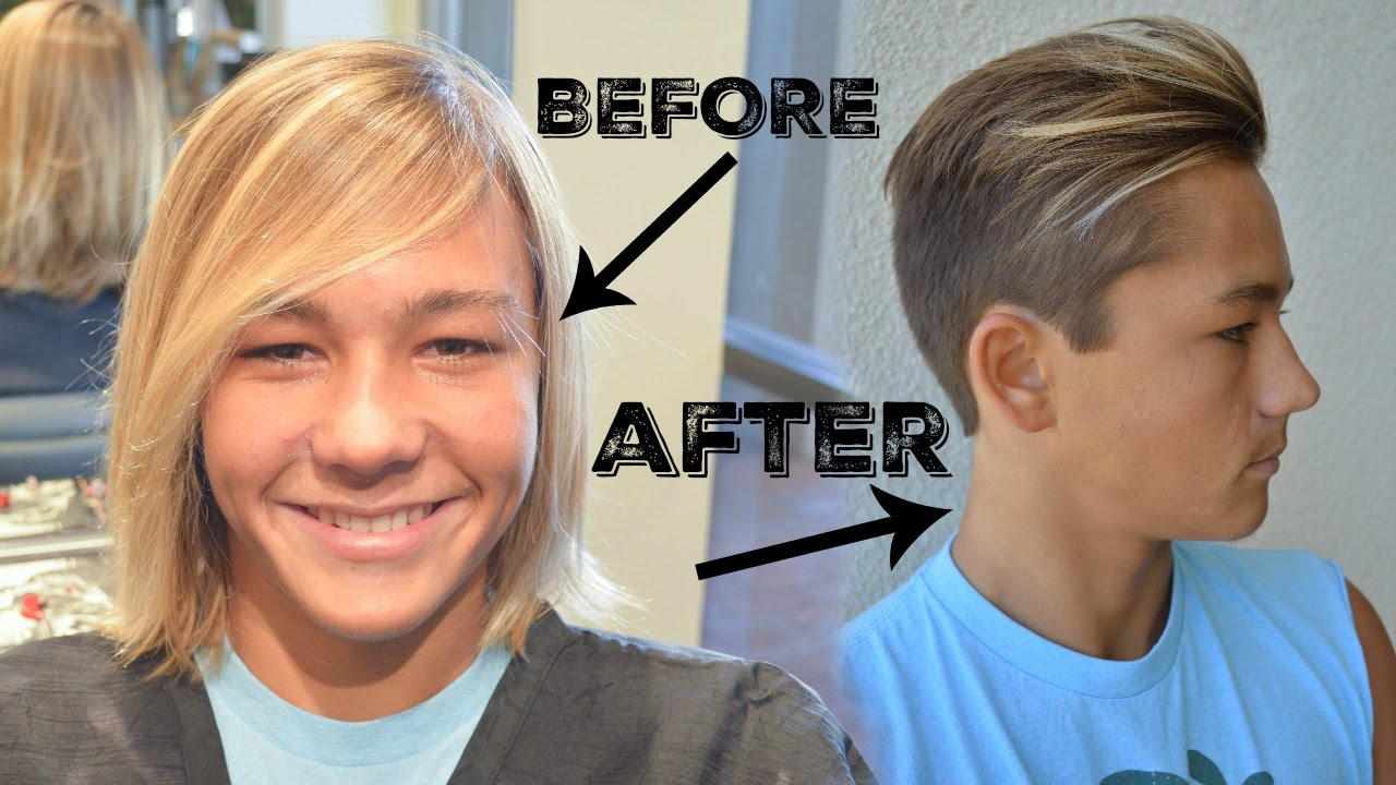 Mens haircut classic undercut youtube urmus Choice Image