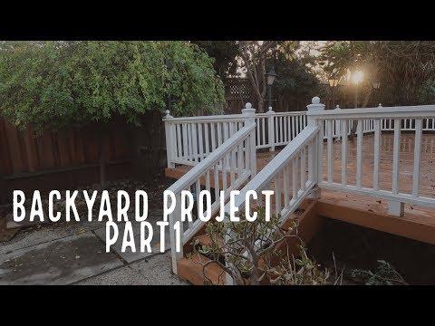 House To Home | Backyard Project Part1 | 拆了sunroom |推荐APP| 砍了八棵树 | 工业风串灯