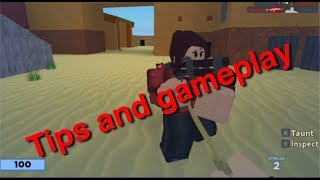 ROBLOX ARSENAL(Tips,bhop and gameplay!)