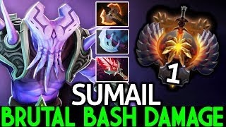 SUMAIL [Faceless Void] Brutal Bash Damage TOP Pro Carry Gameplay 7.24 Dota 2