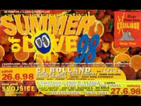 CJ Bolland - Live @ Summer of Love, Czech Republic 27.06.1998