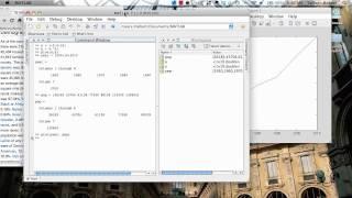 Basic data plotting in MATLAB