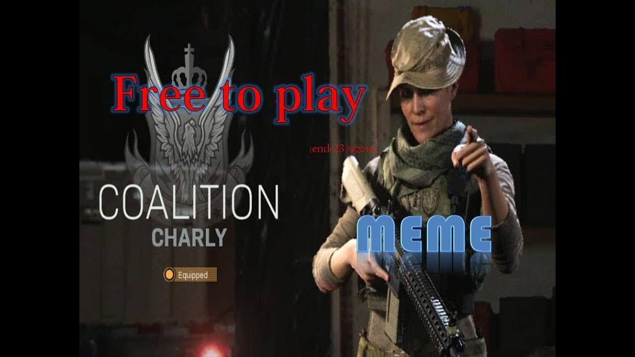 Call Of Duty Modern Warfare Beta Free To Play End 23 9 2019
