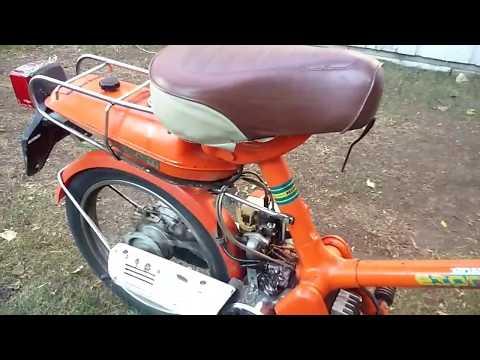 Pull Start on Honda Express nc50 Moped, Noped