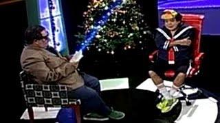 Trucho Cuéllar se sentó en el sillón rojo de Beto Tortis