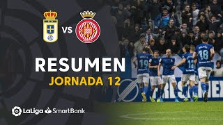 Resumen de Real Oviedo vs Girona FC (4-2)