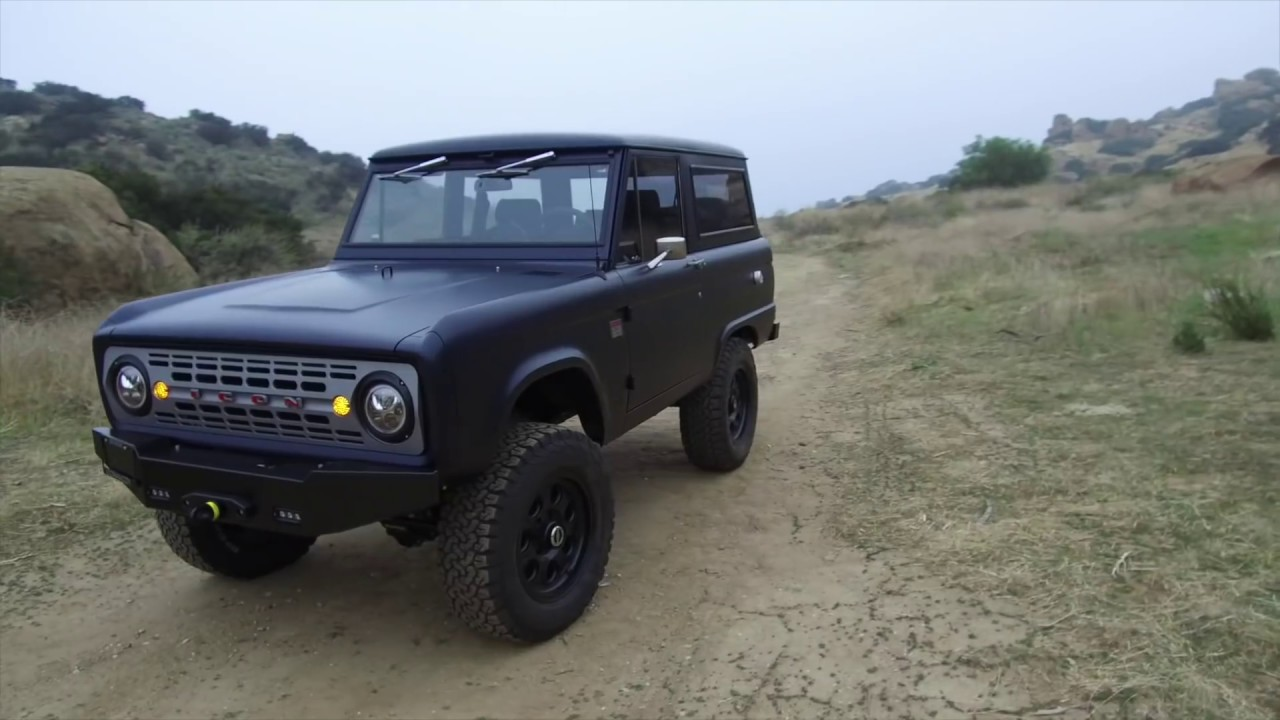 Classics: Icon 4x4 creates the Old School BR, a Ford Bronco made
