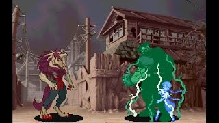 Darkstalkers 3 [PS1] - play as Dark Talbain