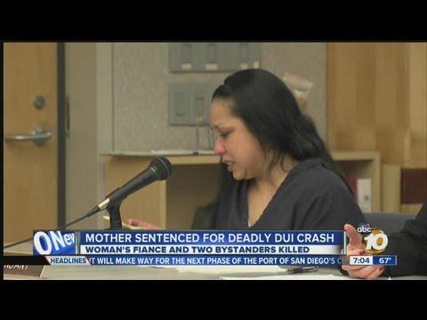 Woman guilty in fatal DUI crash sentenced