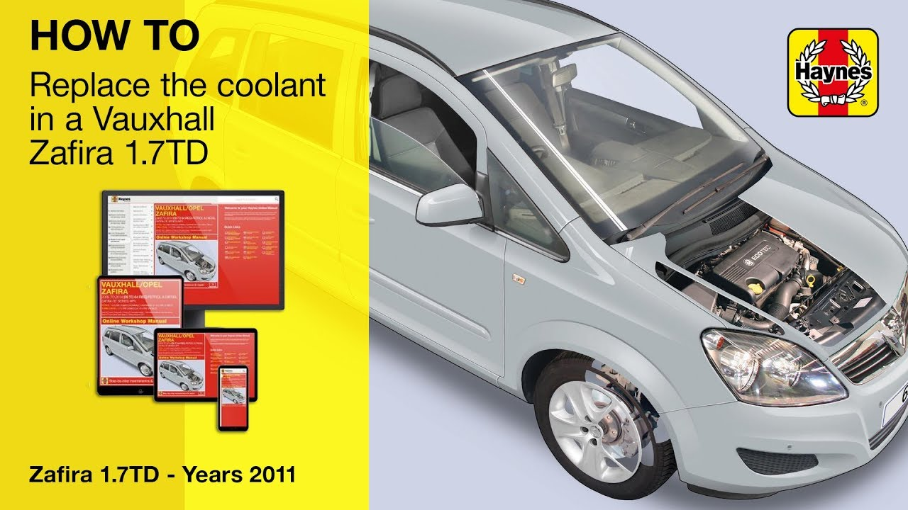vauxhall engine coolant how to replace the coolant on a vauxhall zafira  2009 2014  youtube  coolant on a vauxhall zafira