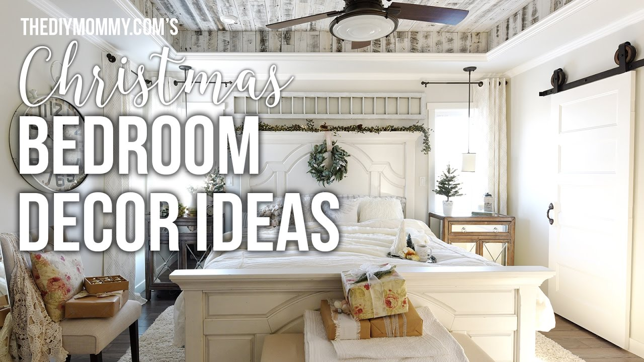 christmas bedroom decor ideas - Christmas Bedroom Decor Ideas