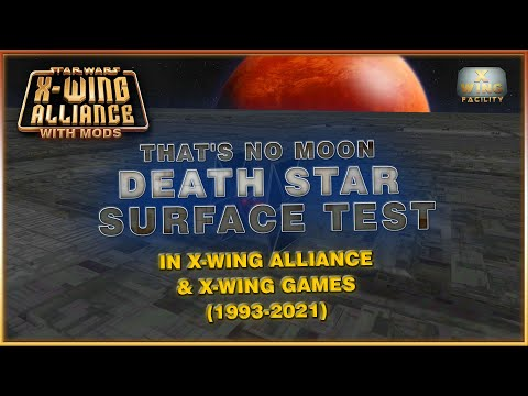 X-Wing Alliance - Death Star - That's no moon - WIP 2021 |