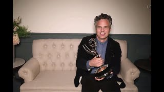72nd Emmy Awards: Mark Ruffalo Wins for Outstanding Lead Actor in a Limited Series or Movie
