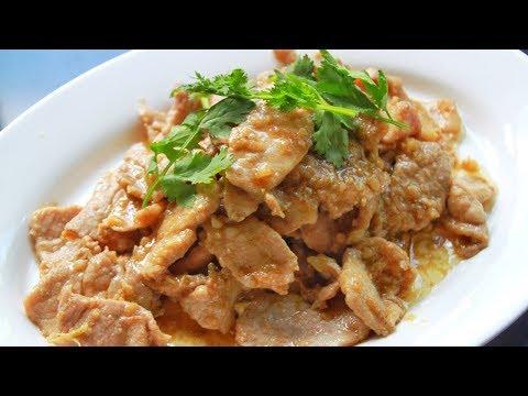 หมูกระเทียมพริกไทย เคล็ดลับความหอมอร่อย เมนูหมูทอด l กินได้อร่อยด้วย