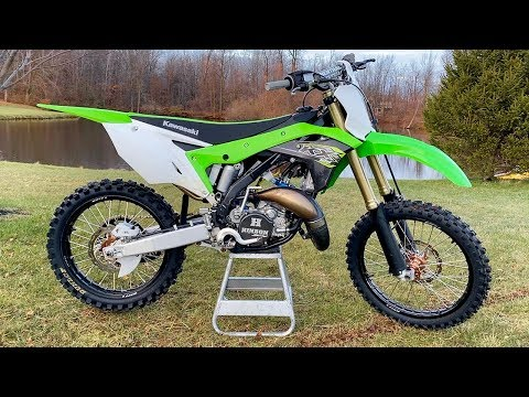 $800 KX125 TWO STROKE BUILD TRANSFORMATION - START TO FINISH