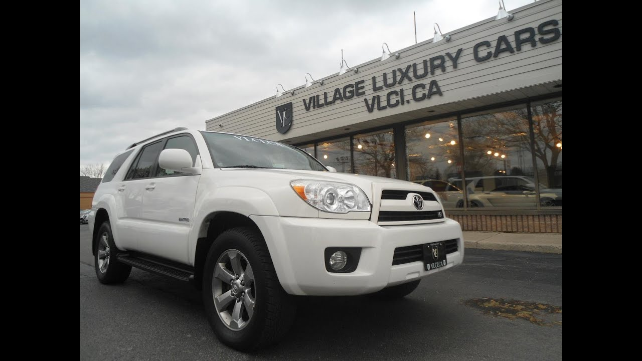 2008 Toyota 4runner Limited In Review Village Luxury Cars Toronto