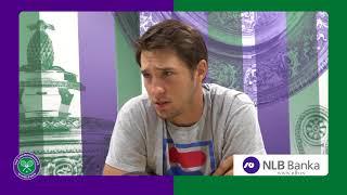 Dušan Lajović Posle Federera: Odvalio me Deda | SPORT KLUB Tenis