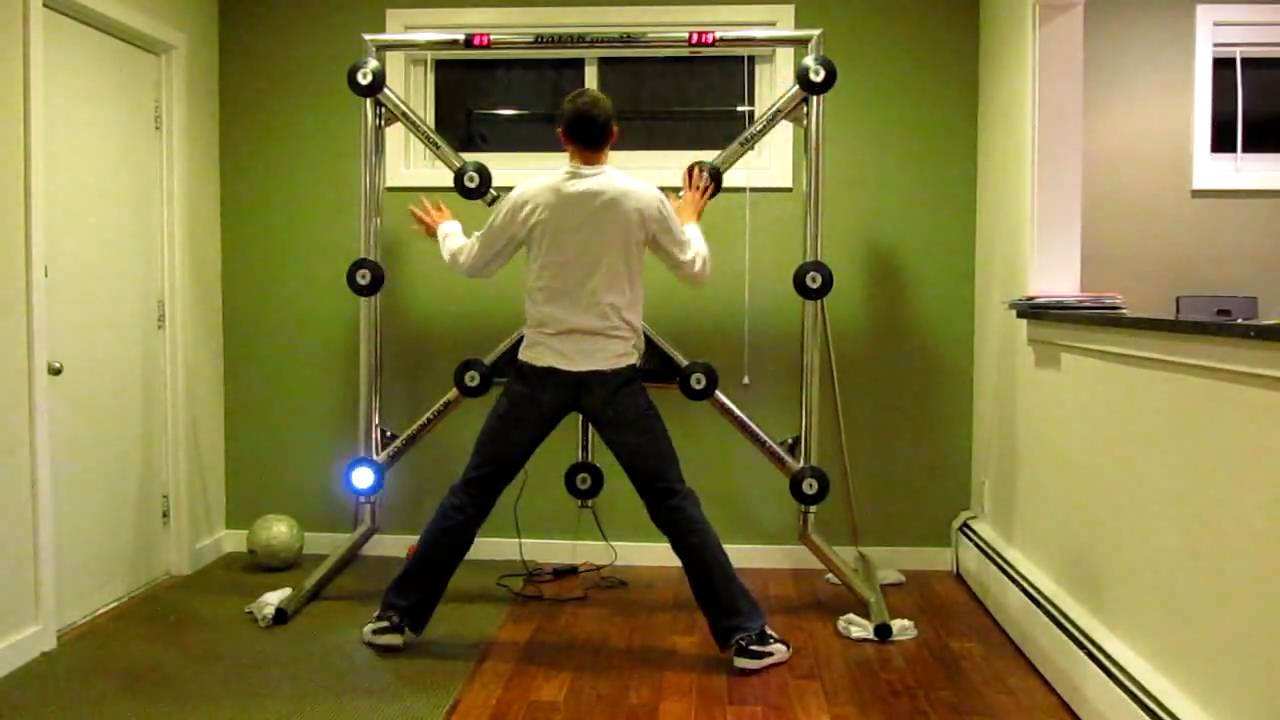 BATAK Pro reaction test, 152 in 60 seconds - YouTube