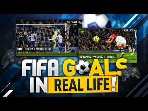 FIFA GOALS IN REAL LIFE!