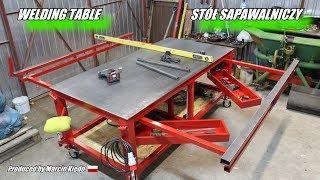 # WELDING TABLE BUILD # STÓŁ SPAWALNICZY MONTAŻOWY # DIY #