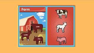 Учим английский язык: животные - учим животных на английском для детей самых маленьких