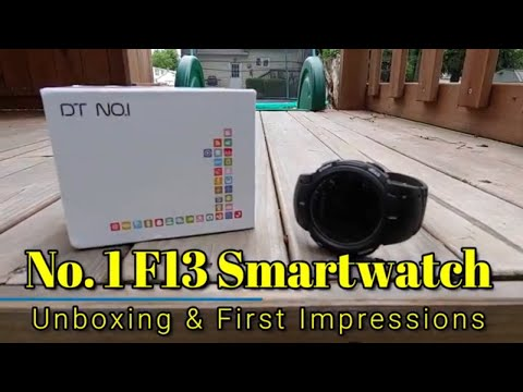 No.1 F13 Sport Smartwatch - First Impressions - Rugged, IP68 Water Resistance