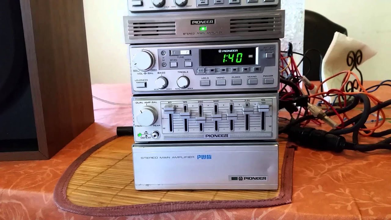 Pioneer Component Test For Ebay Kp 909g Youtube