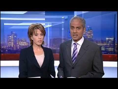 BBC News at Six - Opening titles 2007 - 2008