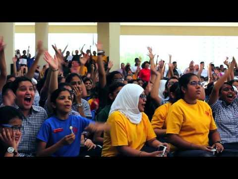 Virgin Radio Dubai - The Kris Fade Show's 20 Schools in 20 Days 2013