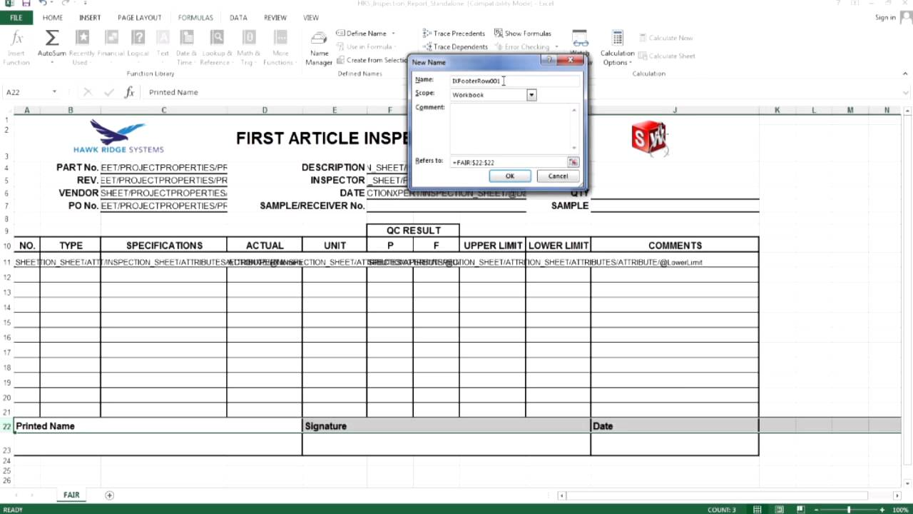 Solidworks inspection creating a custom report template pt 3 solidworks inspection creating a custom report template pt 3 maxwellsz