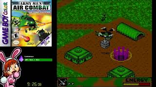Army Men: Air Combat (GBC) - Full Playthrough