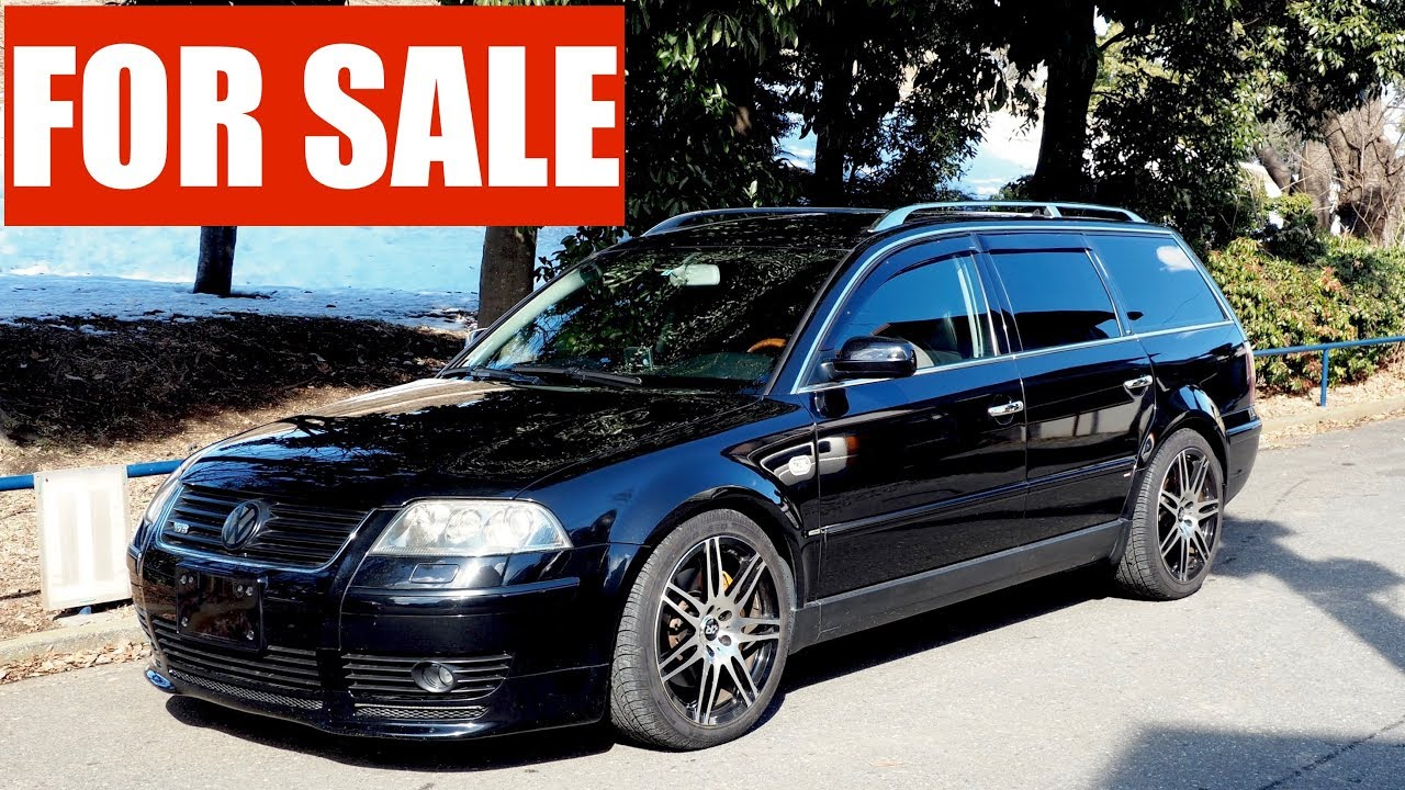 for sale 2003 volkswagen passat w8 estate 4 motion youtube. Black Bedroom Furniture Sets. Home Design Ideas