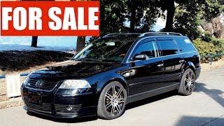 FOR SALE - 2003 Volkswagen Passat W8 Estate 4-Motion