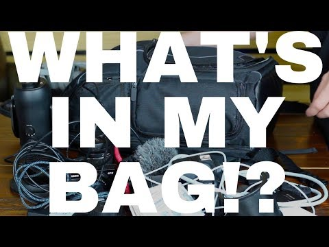 What's In My Bag!? 📷 How We Make Our Reseller Vlogs - Equipment & Editing Tools | RALLI ROOTS