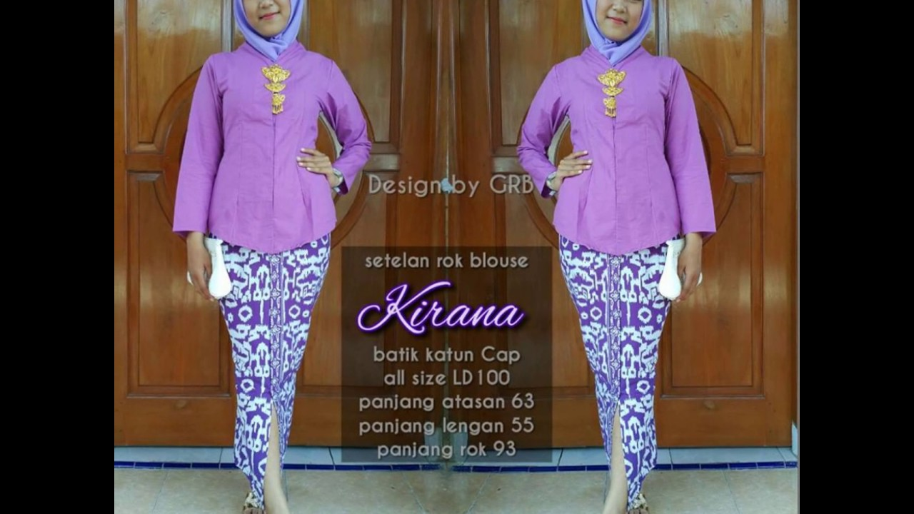 Wa 0816355490 Baju Kebaya Kartini Berhijab Desain Baju Kebaya