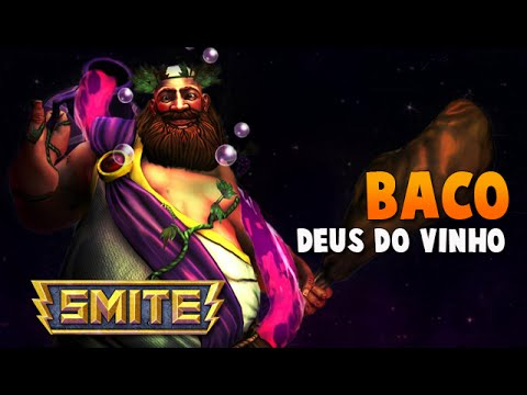 SMITE BRASIL - BACO Deus do vinho! BUILD + GAMEPLAY!