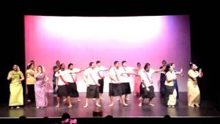 The Pasifika Performance - Unity and Diversity Concert - Massey University - 20th August 2011