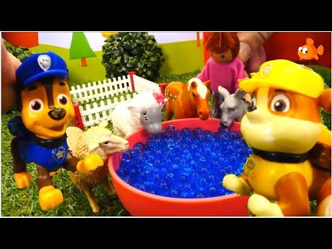 TIME MACHINE! - Paw Patrol Toys videos for kids from kids cartoons - Childrens animation