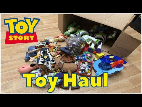 Toy Story Haul, Job Lot Purchase Of Collectable Unloved Toys