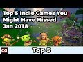 Top 5 Indie Games You Might Have Missed – January 2018