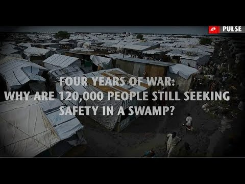 MSF Pulse: Four years of war: Why are 120,000 people still seeking safety in a swamp?
